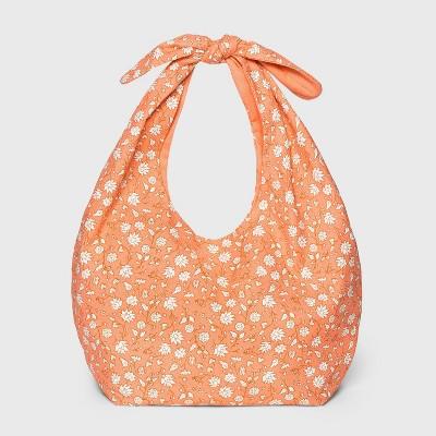 Girls' Reversible Floral Knotted Handbag - Cat & Jack™