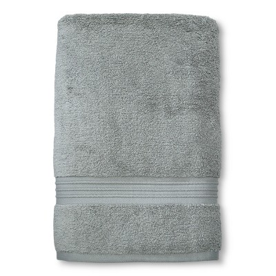 MicroCotton Spa Bath Sheet Gray - Fieldcrest®