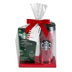 Starbucks Tall Travel Mug with Cocoa