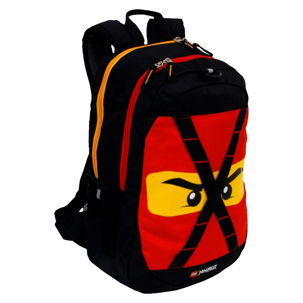 "Image of ""LEGO Ninja go Future 9"""" Backpack, Red"""