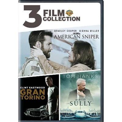 3 Film Collection: American Sniper / Gran Torino / Sully (DVD)(2019)