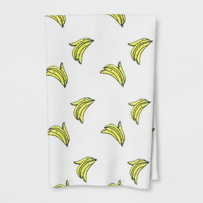 Banana Kitchen Towel White/Yellow - Room Essentials™