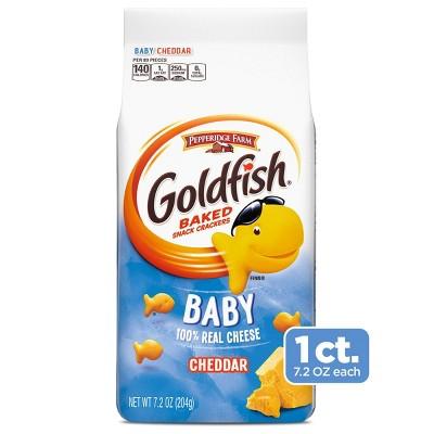 Pepperidge Farm Goldfish Baby Cheddar Crackers - 7.2oz Bag