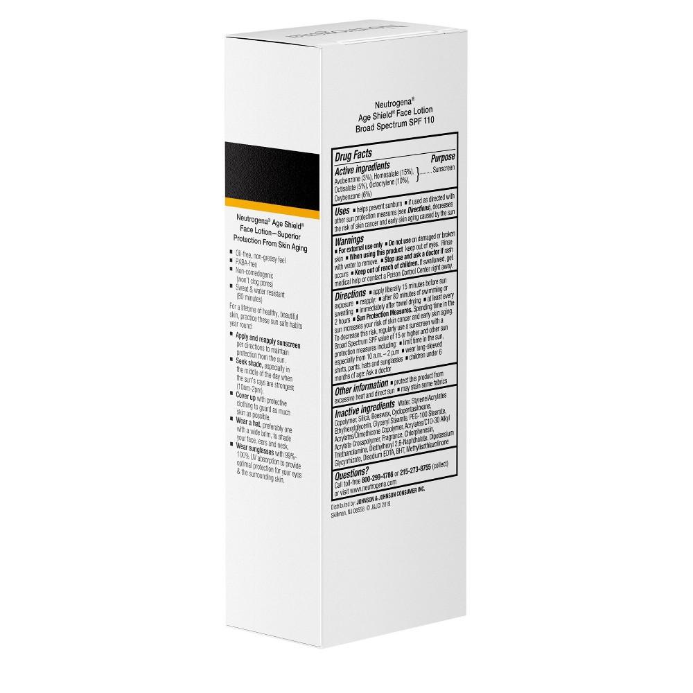 Image of Neutrogena Age Shield Face Sunscreen - SPF 110 - 3 fl oz