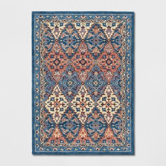 5'X7' Tufted Persian Area Rugs Red - Threshold™