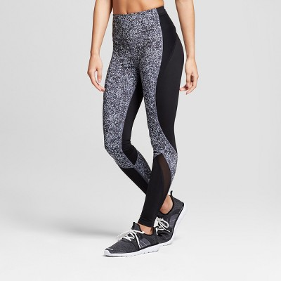 6bbc4fd529a Check Inventory. Women s Embrace High-Waisted Printed Leggings - C9  Champion® Black Gray XXL