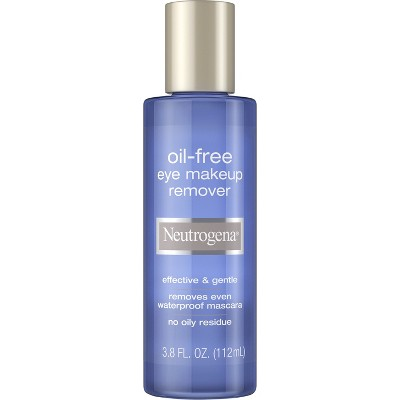 Facial Cleanser: Neutrogena Oil-Free Eye Makeup Remover
