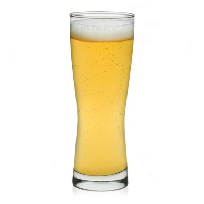 Libbey Bravess Glass Beer Tumblers 12.5oz - Set of 4