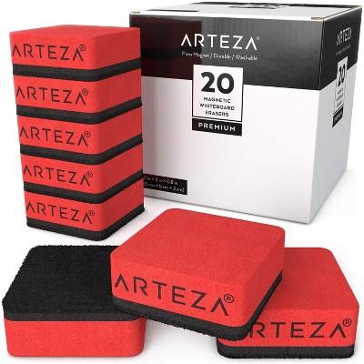 Arteza Magnetic Erasers, Set of 20