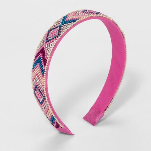 Girls' Wide Embellished Headband - Cat & Jack™ - image 1 of 1