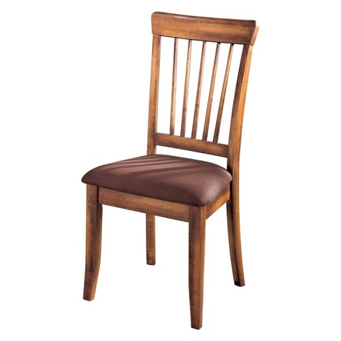 2pc Berringer Dining Chair Brown Sugar - Signature Design by Ashley - image 1 of 4