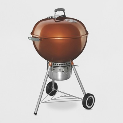 Weber 22  Original Kettle Premium Charcoal Grill Model 14402001 Copper