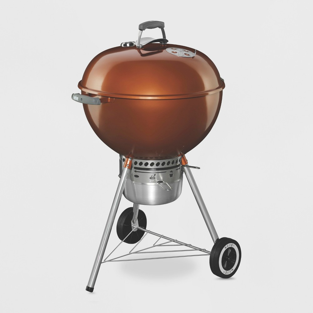 Weber Original Kettle Premium 22 Charcoal Grill – Copper (Brown) – Model 1.4402001E7 16879843