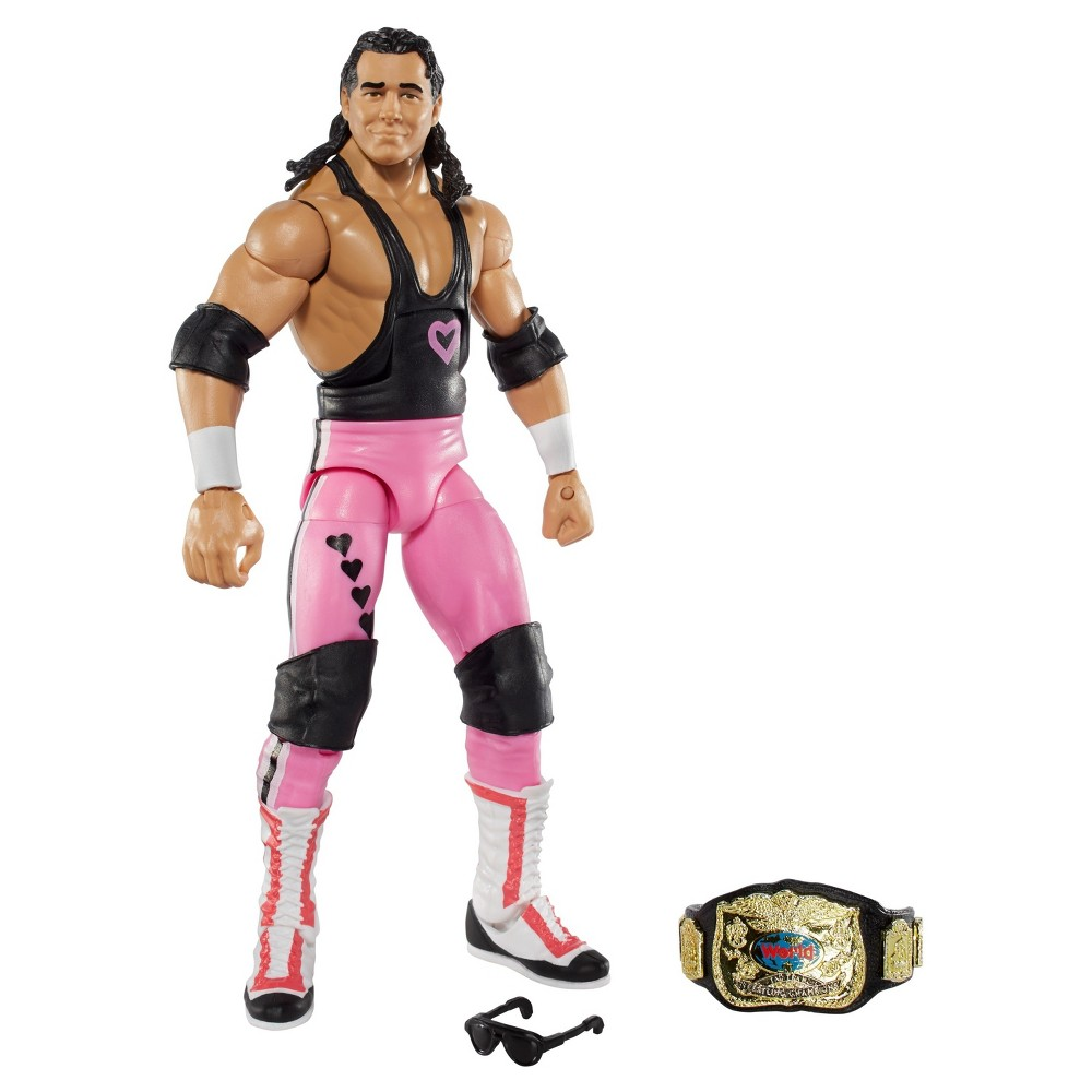 Wwe Elite Collection Bret Hart Action Figure - Series #43