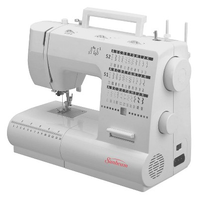 sunbeam 70 stitch domestic sewing machine target rh target com Sunbeam Compact Sewing Machine Manual Sunbeam SB1800 Manual