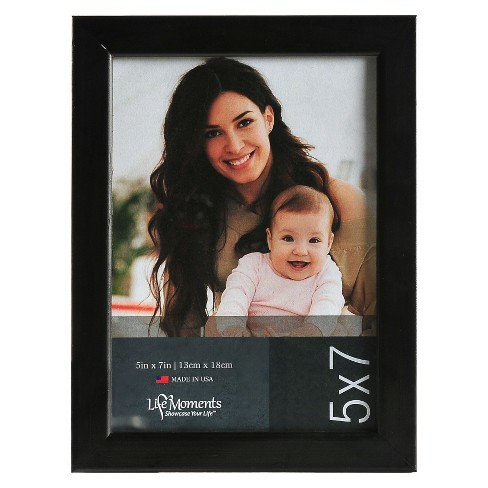 "Black Wood Frame Set (5""X7"") Set of 6 - image 1 of 5"