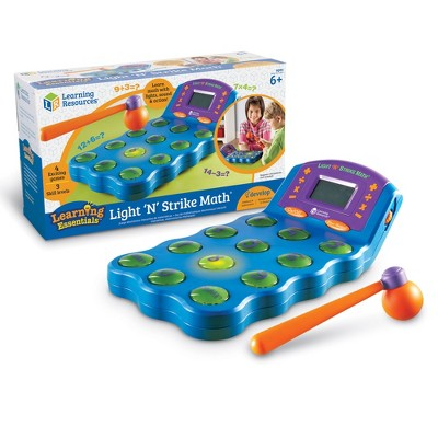 Learning Resources Light N Strike Math Game, Ages 6+