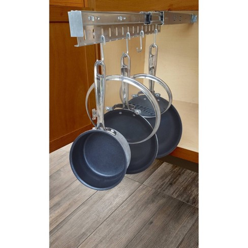 Usa Patented Pot And Pan Cabinet, Under Cabinet Pot And Pan Organizer
