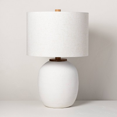 Resin Table Lamp White - Hearth & Hand™ with Magnolia