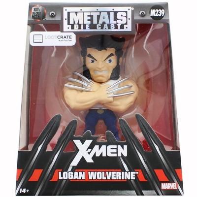 Games Alliance Marvel Logan Wolverine Exclusive 4.5-Inch Diecast Metal Figure