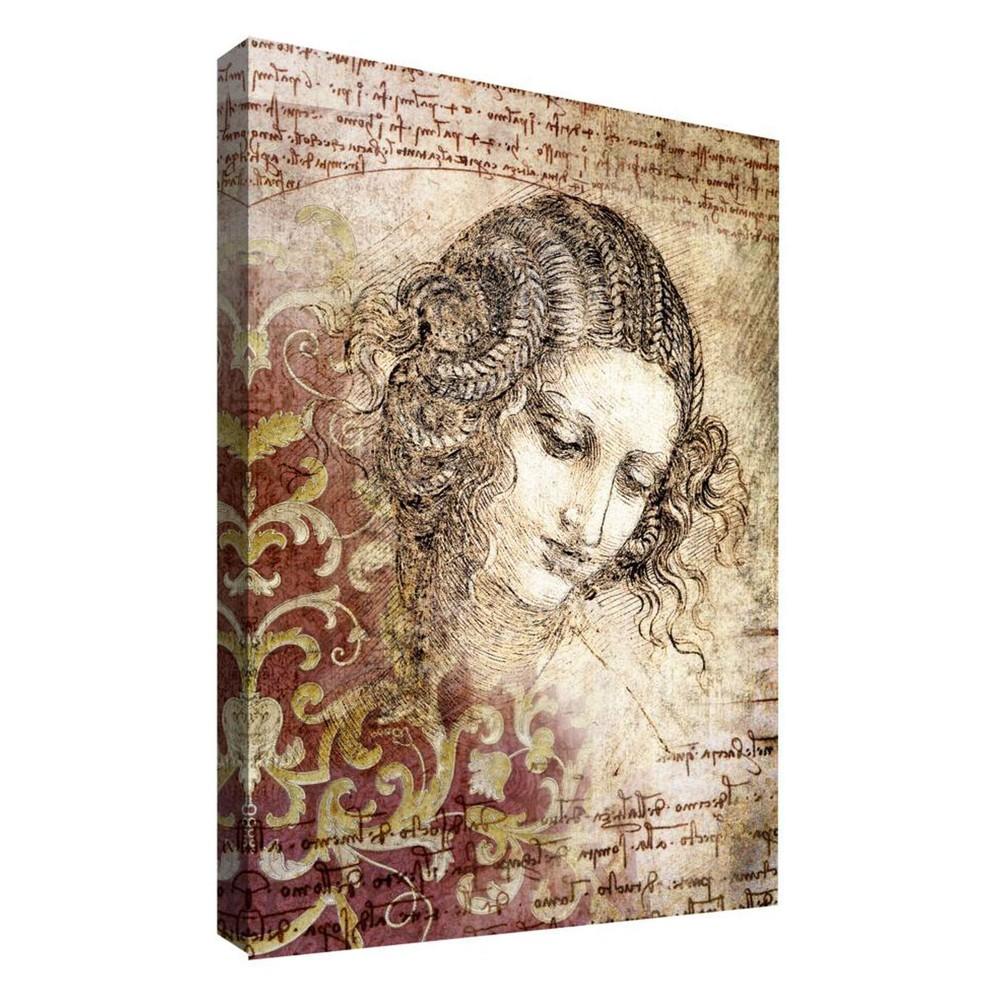 Thinking Lady II Decorative Canvas Wall Art 11