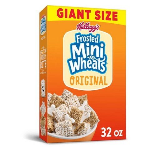 Frosted Mini Wheats Original Breakfast Cereal - 32oz - Kellogg's - image 1 of 4