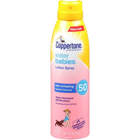 Coppertone Waterbabies Sunscreen Lotion Spray - SPF 50  - 6oz - image 1 of 2