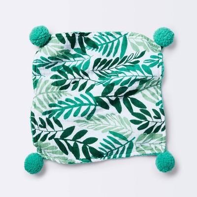 Security Blanket - Cloud Island™ Green/White