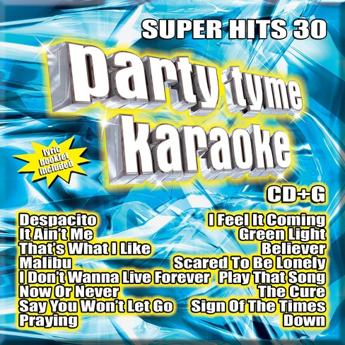 Party Tyme Karaoke - Super Hits 30 - image 1 of 1