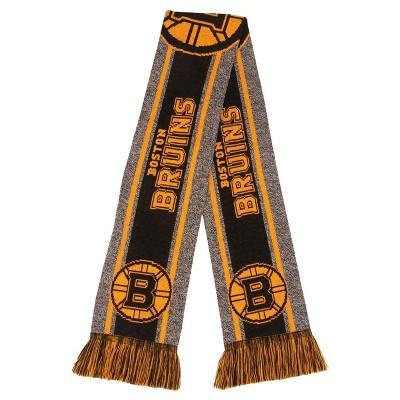 NHL Boston Bruins Gray Big Logo Scarf