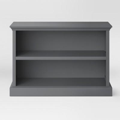 30  Horizontal Bookcase Gray - Threshold™