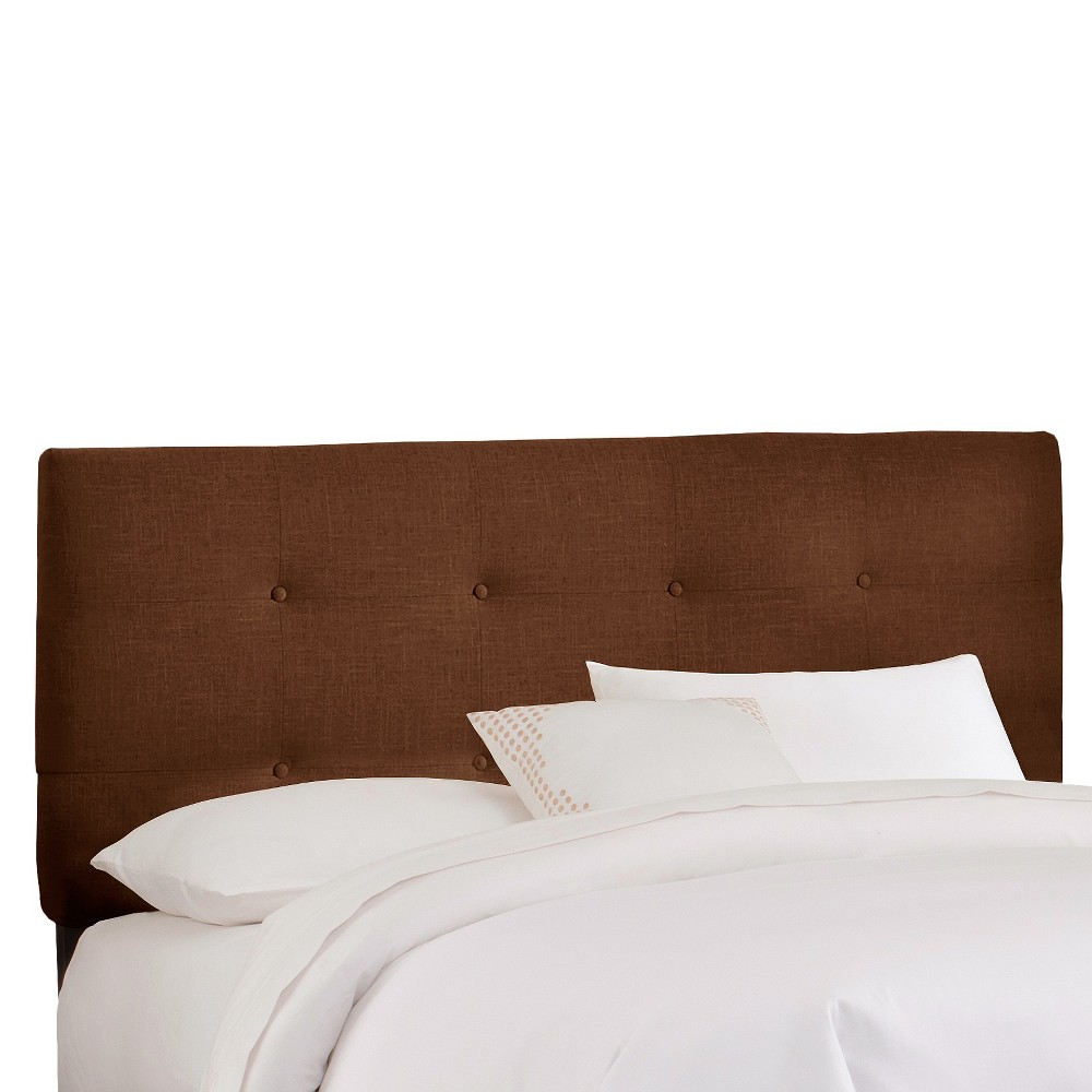 King Dolce Headboard Brown Linen - Cloth & Co.