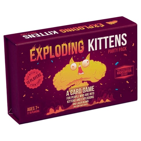 Exploding Kittens Party Pack Game - image 1 of 3