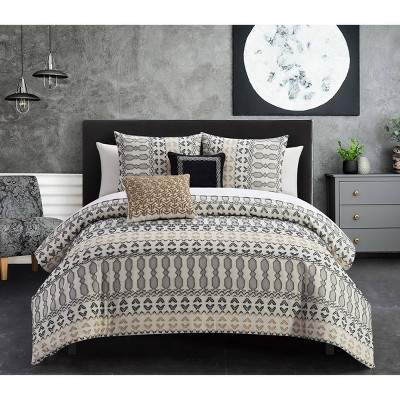 Liliana Bed In A Bag Comforter Set - Chic Home Design