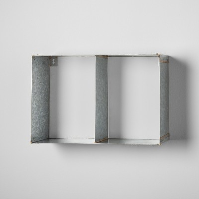 Galvanized Metal Wall Shelf - Hearth & Hand™ with Magnolia