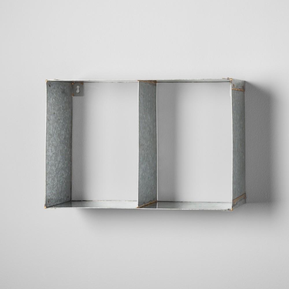Galvanized Metal Wall Shelf - Hearth & Hand with Magnolia