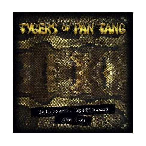 Tygers Of Pan Tang - Hellbound, Spellbound - Live 1981 (Vinyl) - image 1 of 1