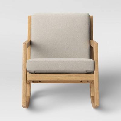 Delicieux Fairglen Wood Arm Modern Rocking Chair   Project 62™ : Target