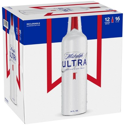 Michelob Ultra Superior Light Beer - 12pk/16 fl oz Aluminum Bottles