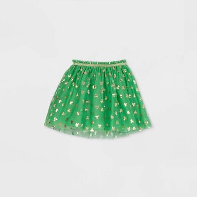 Girls' St. Patrick's Tutu Skirt - Cat & Jack™ Green