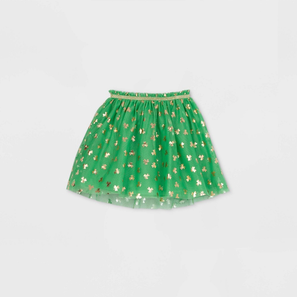 Girls 39 St Patrick 39 S Tutu Skirt Cat 38 Jack 8482 Green L