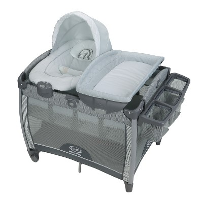 Graco Pack 'n Play Quick Connect Portable Bouncer with Bassinet - Raleigh
