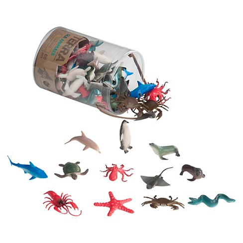 Terra Miniature Sea Animal Collection By Battat - image 1 of 2