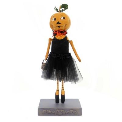 "Halloween 12.25"" Pumpkin Ballerina Tu Tu Trick Or Treat  -  Decorative Figurines"