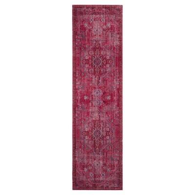 Valencia Rug - Red- (2'3 x8')- Safavieh®