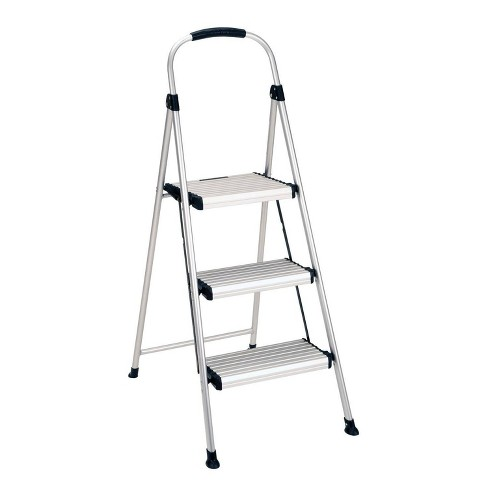 Admirable Cosco 3 Step All Aluminum Step Stool Ocoug Best Dining Table And Chair Ideas Images Ocougorg