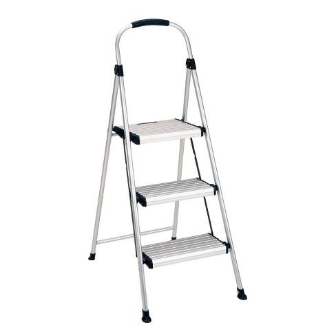 Awesome Cosco 3 Step All Aluminum Step Stool Frankydiablos Diy Chair Ideas Frankydiabloscom