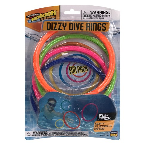 Splash Bombs Dizzy Dive Rings - image 1 of 3