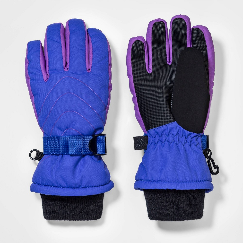 Top Girls' Ski Quilted Gloves - All in Motion™