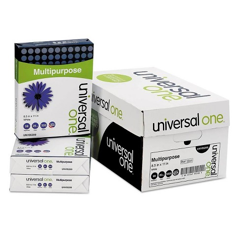 "Universal One™ Printer Paper 8.5"" X 11"", 5000 Ct - White - image 1 of 4"